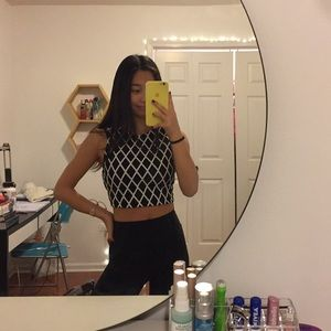 forever 21 cropped tank